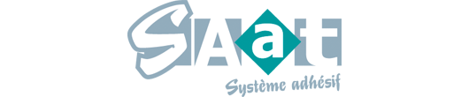 logo SAAT système adhésif